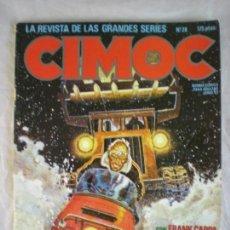 Cómics: CIMOC Nº28 - JUNIO 1983. Lote 163035646