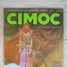 Cómics: CIMOC Nº27 - MAYO 1983. Lote 163036146