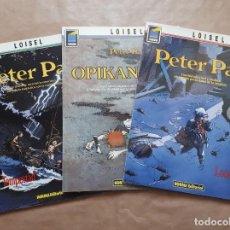 Comics: PETER PAN - 1 2 3 - LONDRES OPIKANOBA TEMPESTAD - LOISEL - NORMA - JMV. Lote 163382866