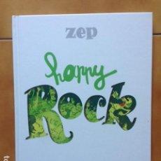 Cómics: HAPPY ROCK POR ZEP - TAPA DURA NORMA EDITORIAL HUMOR. Lote 163520114