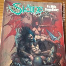 Cómics: SLAINE, EL DIOS CORNUDO- PAT MILLS/ SIMON BISLEY- TOMO SLAINE Nº 1 COLECCION CIMOC EXTRA COLOR Nº 75. Lote 163742974