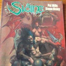 Comics - SLAINE, EL DIOS CORNUDO- PAT MILLS/ SIMON BISLEY- TOMO SLAINE Nº 1 COLECCION CIMOC EXTRA COLOR Nº 75 - 163743014