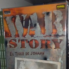 Cómics: WAR STORY: EL TIGER DE JOHANN. GARTH ENNIS. Lote 175474034