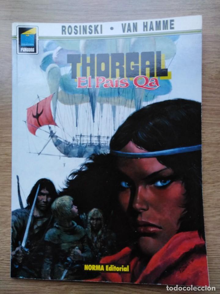 THORGAL. EL PAIS QA. Nº 10. COLECCION PANDORA 3. ROSINSKI / VAN HAMME. NORMA (Tebeos y Comics - Norma - Comic Europeo)