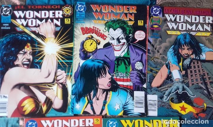 WONDER WOMAN, COLECCION COMPLETA 5 TOMOS (Tebeos y Comics - Norma - Comic USA)