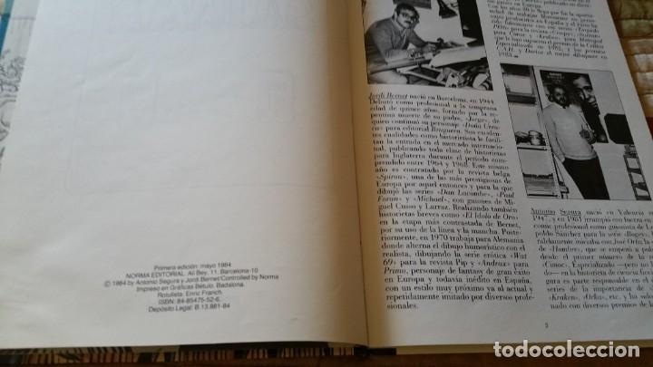 Cómics: SARVAN BERNET Y SEGURA Norma primera edición 1984 raro - Foto 3 - 164967294
