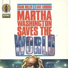 Cómics: COMIC008* MERTHA WASHINGTON SAVES THE WORLD, NORMA. Lote 165042442