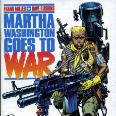 Cómics: COMIC008* MERTHA WASHINGTON GOES TO WAR, 5 NUMEROS COMPLETOS, NORMA. Lote 165042966