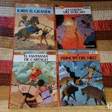 Cómics: 4 COMICS ALIX JACQUES MARTIN NORMA EDITORIAL PRIMERA EDICIÓN. Lote 165048950