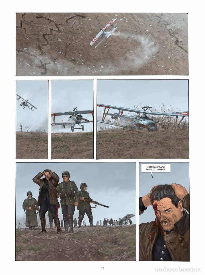Cómics: Cómics. EL PILOTO DEL EDELWEISS. EDICIÓN INTEGRAL - Yann/Romain Hugault (Cartoné) - Foto 5 - 195535306