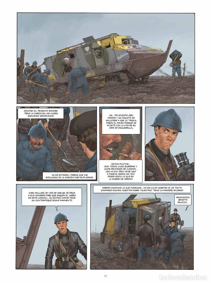 Cómics: Cómics. EL PILOTO DEL EDELWEISS. EDICIÓN INTEGRAL - Yann/Romain Hugault (Cartoné) - Foto 6 - 195535306