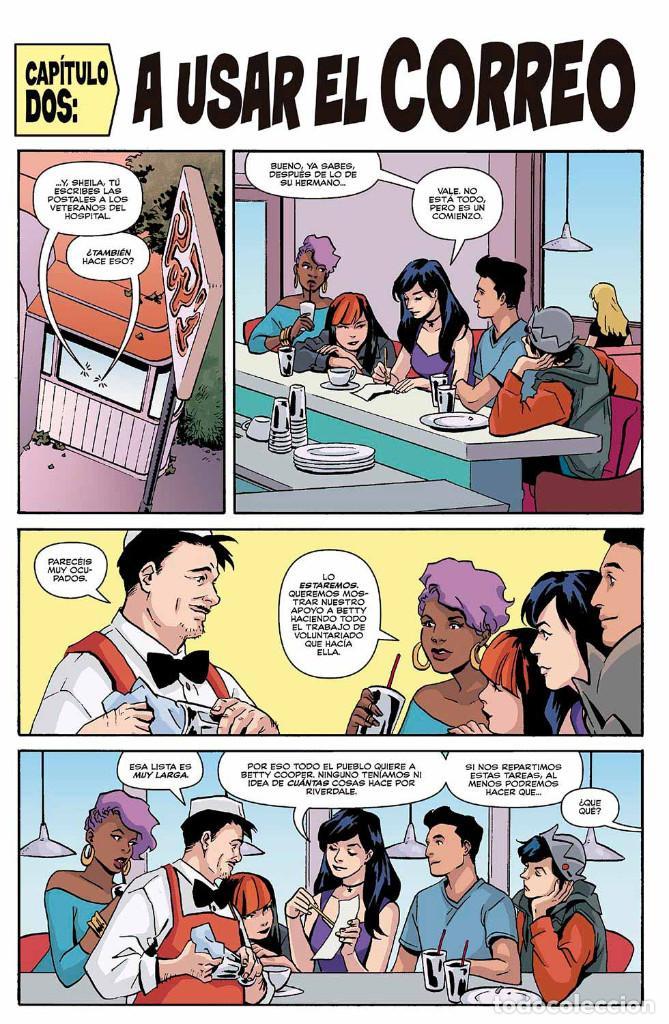 Cómics: Cómics. ARCHIE 5 - Mark Waid/Audrey Mok/Kelly Fitzpatrick (Cartoné) - Foto 6 - 165795330