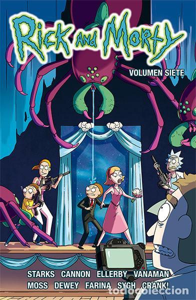 CÓMICS. RICK Y MORTY 7 - VARIOS AUTORES (Tebeos y Comics - Norma - Comic USA)