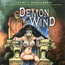Cómics: DEMON WIND (AZPIRI / KINDZIERSKI) NORMA - IMPECABLE - OFI15T. Lote 165943342