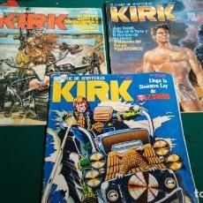 Cómics: TRES COMIC KIRK. Lote 166050166