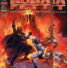 Cómics: STAR WARS.BOBA FETT ENEMIGO DEL IMPERIO. SERIE COMPLETA: 2 TOMOS. NORMA. Lote 251787470