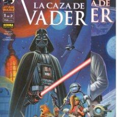 Fumetti: STAR WARS. LA CAZA DE VADER. 2 PRESTIGIOS. NORMA. Lote 234670875