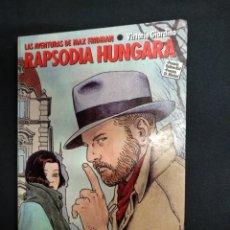 Cómics: RAPSODIA HUNGARA - VITTORIO GIARDINO - NORMA EDITORIAL - . Lote 166271918
