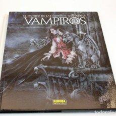 Cómics: VAMPIROS, EL MUNDO DE LAS SOMBRAS ILUSTRADO - NORMA EDITORIAL - VVAA. Lote 166615542