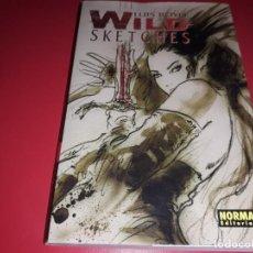 Cómics: WILD SKETCHES LUIS ROYO NORMA EDITORIAL 2006. Lote 166637634