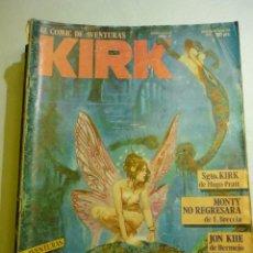 Cómics: KIRK Nº 4 - CÓMIC DE AVENTURAS COMPLETAS DE ACCIÓN Y FANTASIA , ED. NORMA 1982. Lote 166728190
