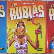 Cómics: LAS RUBIAS, 3 TOMOS. GABY & DZACK. Lote 166769210