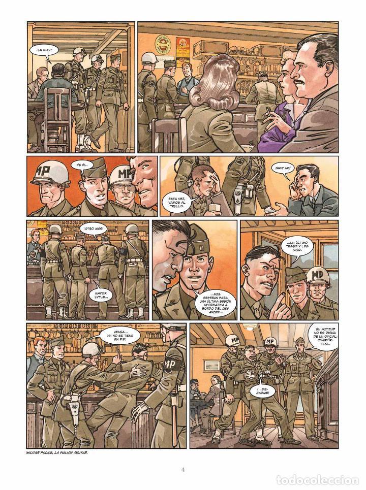 Cómics: Cómics. OPERACIÓN OVERLORD 5. POINTE DU HOC - Falba/Fabbri/Dalla Vechia (Cartoné) - Foto 3 - 265895008