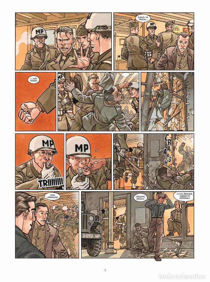 Cómics: Cómics. OPERACIÓN OVERLORD 5. POINTE DU HOC - Falba/Fabbri/Dalla Vechia (Cartoné) - Foto 4 - 265895008
