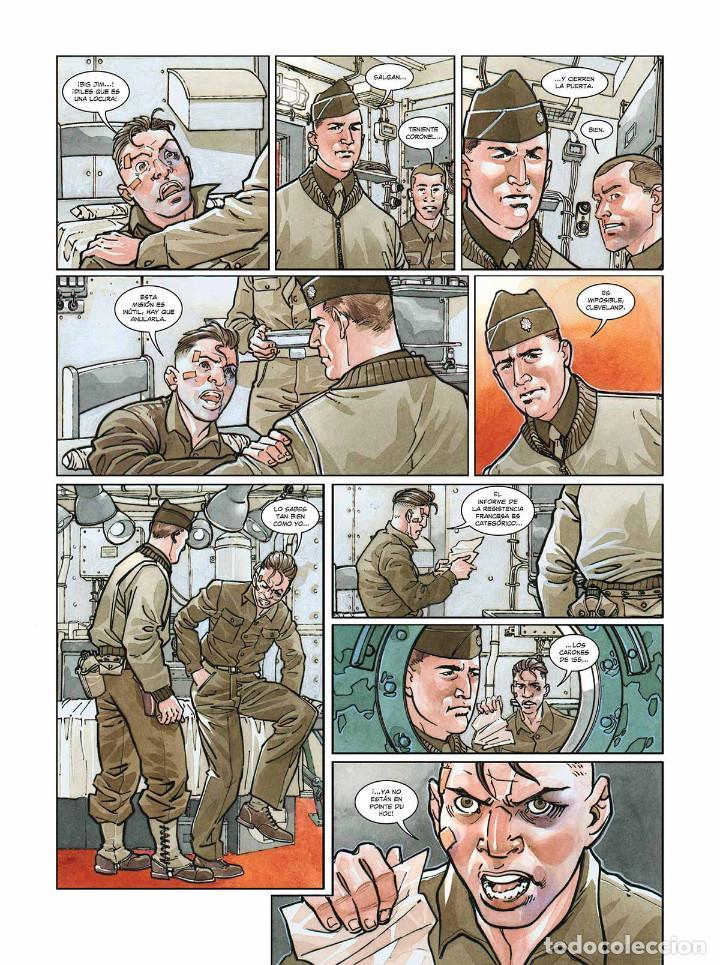 Cómics: Cómics. OPERACIÓN OVERLORD 5. POINTE DU HOC - Falba/Fabbri/Dalla Vechia (Cartoné) - Foto 6 - 265895008
