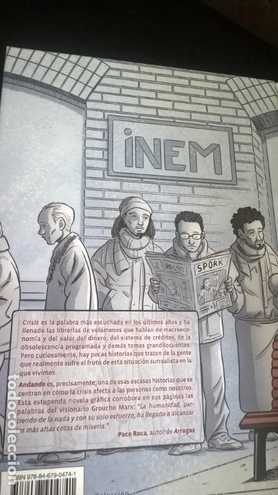 Cómics: NOM 35 ANDANDO. TORRES, CARRERES, RIEGO. NORMA 2011. NOMADAS. TEBEOS/COMICS. - Foto 2 - 166982884
