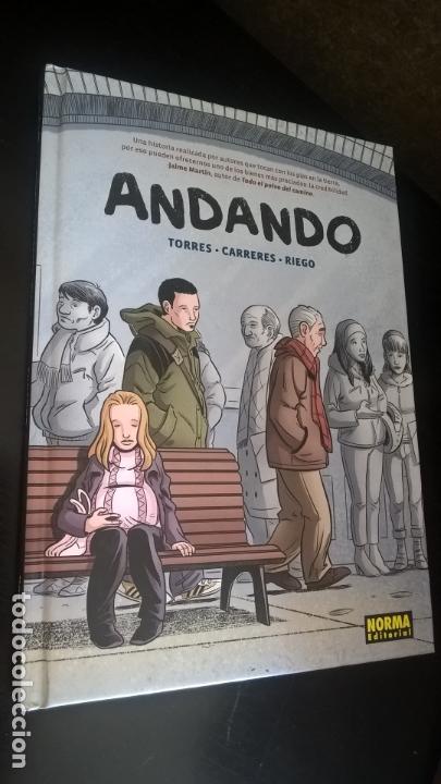 NOM 35 ANDANDO. TORRES, CARRERES, RIEGO. NORMA 2011. NOMADAS. TEBEOS/COMICS. (Tebeos y Comics - Norma - Otros)