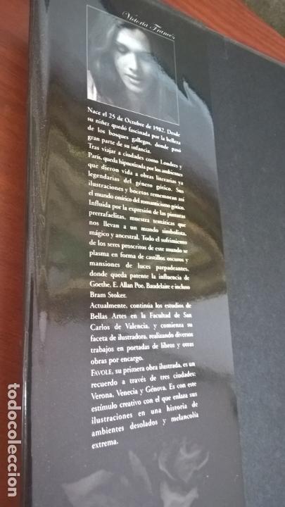 Cómics: FAVOLE 1 LAGRIMAS DE PIEDRA. VICTORIA FRANCES. NORMA PRIMERA EDICION 2004. Con dedicatoria de autora - Foto 10 - 167028952