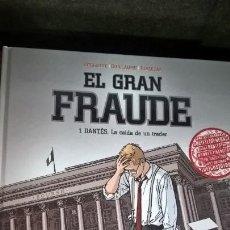 Cómics: EL GRAN FRAUDE 1. DANTES: LA CAIDA DE UN TRADER. BOISSERIE, GUILLAUME, JUSZEZAK. NORMA 2008 1ª EDICI. Lote 167029828