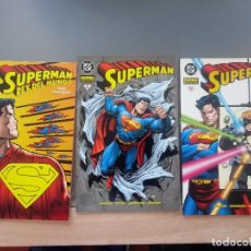 Cómics: SUPERMAN NORMA EDITORIAL. LOTE DE 3 TOMOS: NÚMEROS:11--12--14.. Lote 167488976