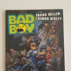 Cómics: FRANK MILLER Y SIMON BISLEY - BAD BOY (ONI PRESS) NORMA EDITORIAL 2001. Lote 167508900