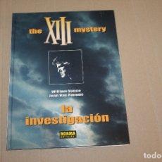 Cómics: XIII Nº 13, TAPA DURA , EDITORIAL NORMA. Lote 167524316