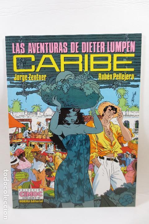 LAS AVENTURAS DE DIETER LUMPEN - CARIBE (JORGE ZENTNER + RUBÉN PELLEJERO) (Tebeos y Comics - Norma - Cimoc)