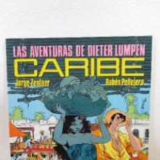 Cómics: LAS AVENTURAS DE DIETER LUMPEN - CARIBE (JORGE ZENTNER + RUBÉN PELLEJERO). Lote 167558844