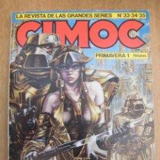 Cómics: RETAPADO CIMOC PRIMAVERA 1 CONTIENE LOS NÚMEROS 33, 34 Y 35 NORMA EDITORIAL. Lote 167617868