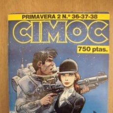 Cómics: RETAPADO CIMOC PRIMAVERA 2 CONTIENE LOS NÚMEROS 36, 37 Y 38 NORMA EDITORIAL. Lote 167618348