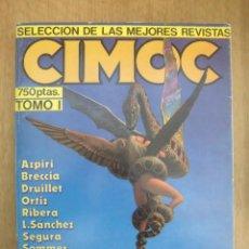 Cómics: RETAPADO CIMOC SELECCIÓN DE LAS MEJORES REVISTAS TOMO I NORMA EDITORIAL. Lote 167618836