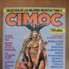 Cómics: RETAPADO CIMOC SELECCIÓN DE LAS MEJORES REVISTAS TOMO II NORMA EDITORIAL. Lote 167618976