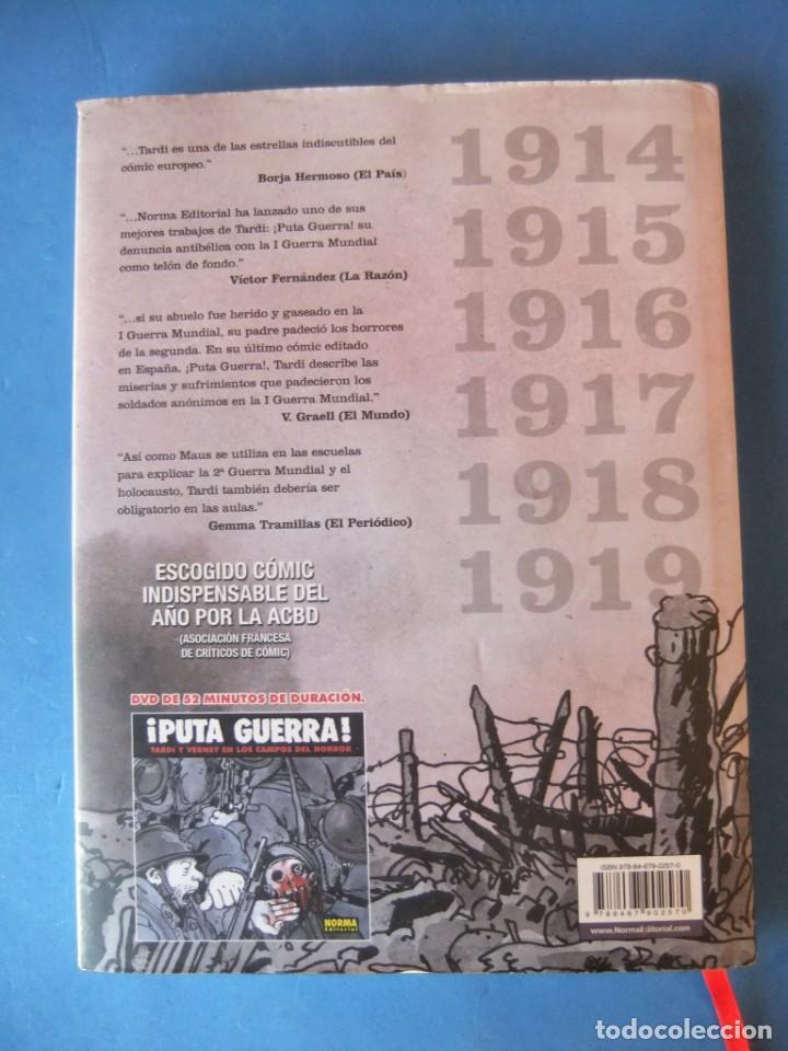 Cómics: PUTA GUERRA 1914-1919 EDICION COLECCIONISTA NORMA - Foto 2 - 167675368