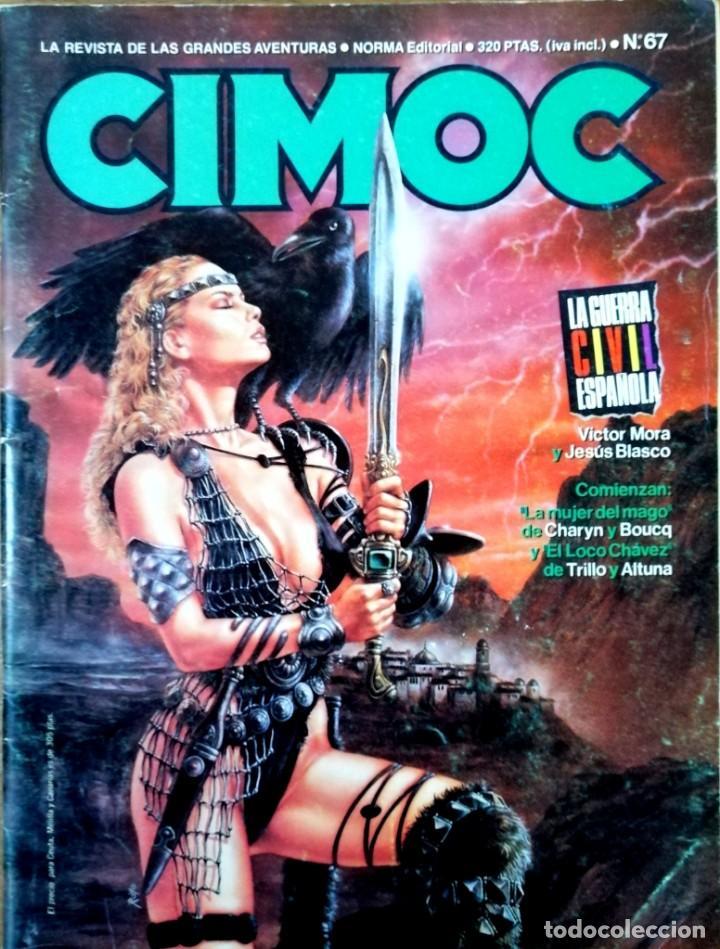 CIMOC N 67.REVISTA DE LAS GRANDES AVENTURAS (Tebeos y Comics - Norma - Cimoc)