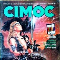 Cómics: CIMOC N 67.REVISTA DE LAS GRANDES AVENTURAS . Lote 167868800