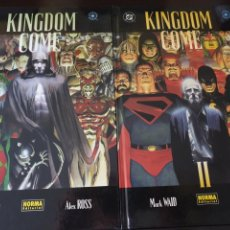 Cómics: KINGDOM COME ALEX ROSS 4 TOMOS NORMA EDITORIAL TAPA DURA. Lote 167813994