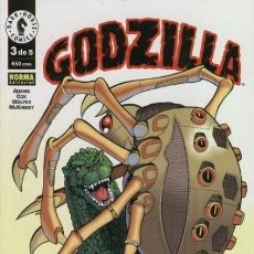 Cómics: GODZILLA Nº 3 - NORMA - COMO NUEVO. Lote 167988940