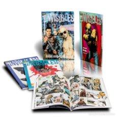 Cómics: PACK LOS INVISIBLES. 4 CÓMICS - GRANT MORRISON DESCATALOGADO!!! OFERTA!!!. Lote 168175016