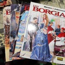 Cómics: LOS BORGIA. MILO MANARA, ALEJANDRO JODOROWSKY - COMPLETA TOMOS 1 - 2 - 3 Y 4 NORMA EDITORIAL TEBEO. Lote 168248180