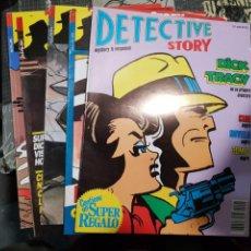 Cómics: DETECTIVE STORY DICK TRACY COLECCION COMPLETA DE 5 NUMEROS NEW COMIC. Lote 168249508
